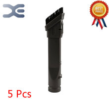 Buy 5Pcs Adapter Dyson Vacuum Cleaner Accessory Two-in-one Head Brush DC35 DC45 DC58 DC59 DC62 V6 Vacuum Cleaner Parts for $39.46 in AliExpress store