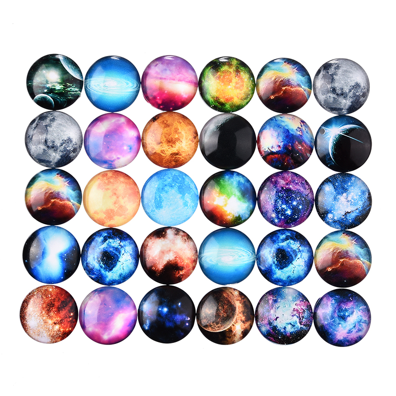 2016 Wholesale Fine Jewelry Materials 10 Pcs Mix Dome Round Picture Glass Cabochon 20mm Jewelry Accessories DIY Jewelry(China (Mainland))