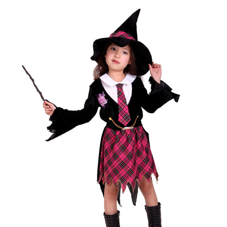 Buy Fashion Girl Cosplay Costume Halloween Costume For Kids Little Witch