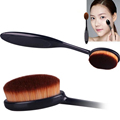 1 PC Pro Women Lady Cosmetic Makeup Face Powder Blusher Soft Toothbrush Curve Brush Foundation Tools