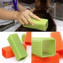 Pet Dog Puppy Cat Bath Brush Comb Depilation Soft Silicone Sticky Hair Tool Worldwide Store(China (Mainland))