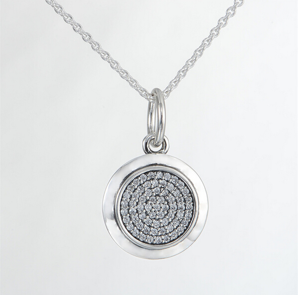2015 new sterling silver jewelry necklace 925 sterling silver fine jewelry Signature pendant with Chain necklaces pendant YL012(China (Mainland))