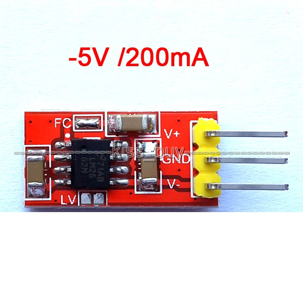 LM2662 Negative Voltage Converter Module +5V / -5V Negative Power Supply Module(China (Mainland))