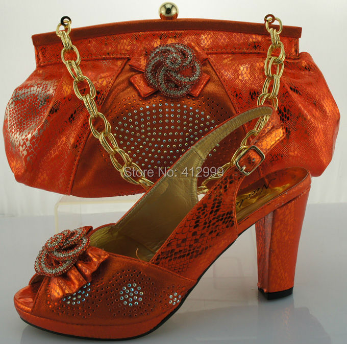 2015 new fashion medium heels , sexy ladies dress shoe and bag to match with free shipping by dhl(China (Mainland))