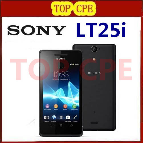 LT25 Original Sony Ericsson Xperia V LT25i Dual Core 3G&4G GPS Wifi 13MP 8GB Storage Android Mobile Phone Free Shipping(China (Mainland))