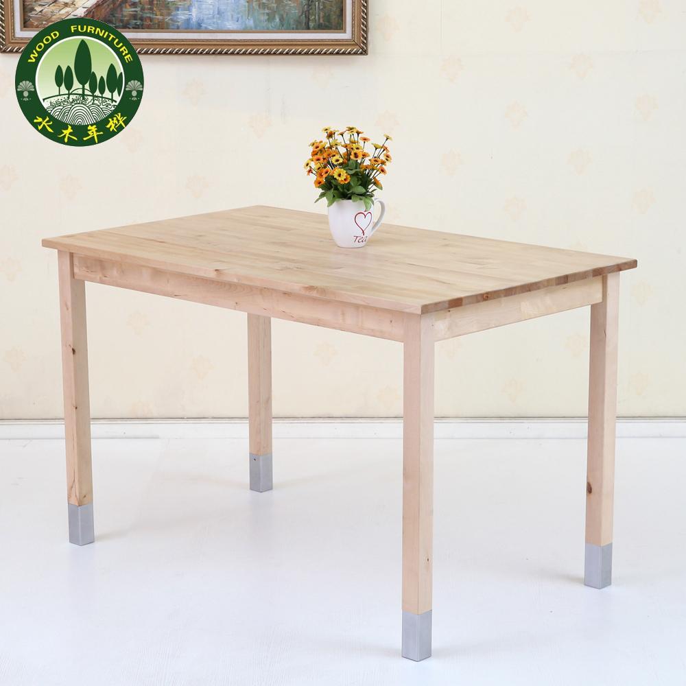 Japanese Mizuki Years Birch Wood Table Long Table