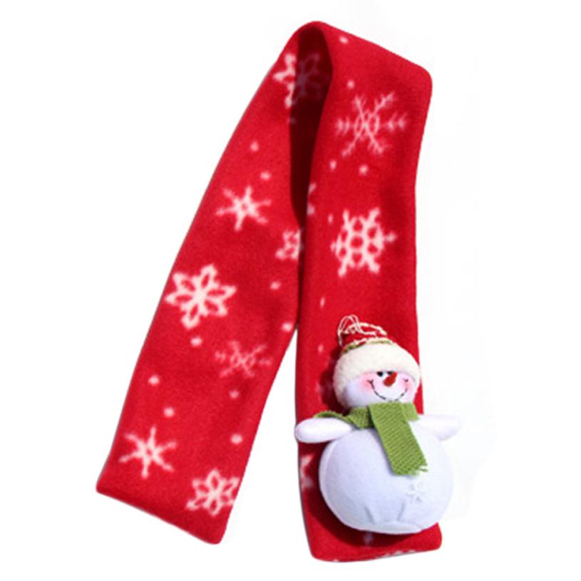 Aliexpress.com Comprar Nueva marca de fábrica 2015 de la Navidad de Santa Claus Niños Calientes Bufanda de invierno para niñas niños Bufandas Accesorios de