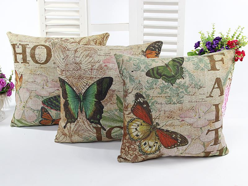 butterfly cushions home decor sofa throw pillows  : butterfly cushions home decor sofa throw pillows decorative cushion pillowcase vintage almofadas decorativas chair cojines from www.aliexpress.com size 800 x 600 jpeg 98kB