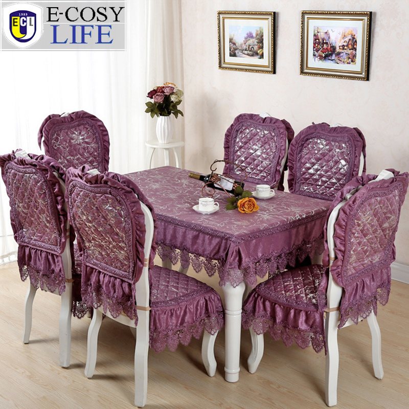Compare prices on elegant dining chair covers online for Christmas table cover ideas