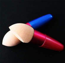 Hot Sale 2pcs lot Cosmetic Smooth Sponge Puff Powder Foundation Blending Concealer Make up Sponge Professional