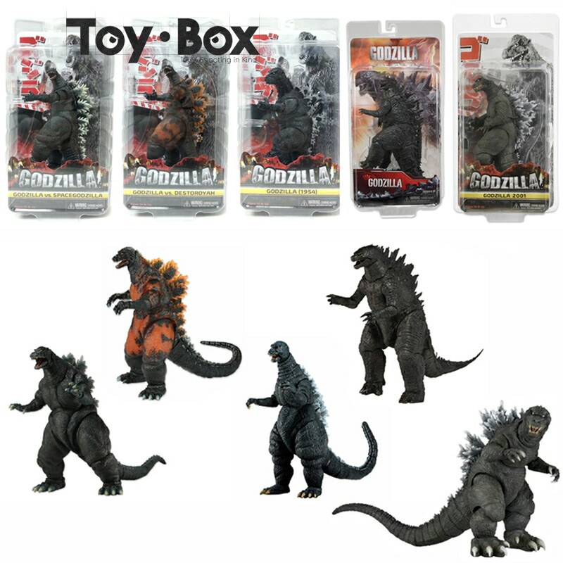 1954 Godzilla Vs Spacegodzilla Godzilla Vs Destoroyan 2014 Godzilla 18cm Cartoon Toy PVC Figure Model Gift
