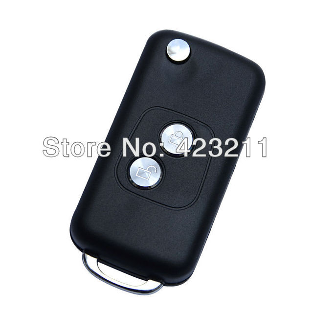 Folding Remote Key Case For PEUGEOT 106 205 206 Flip