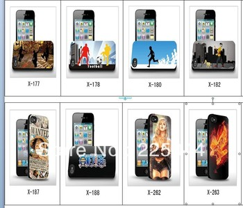 The naked eye cartoon  3d Three-Dimensional  for iPhone 4 4s cell phone case free Shipping 059