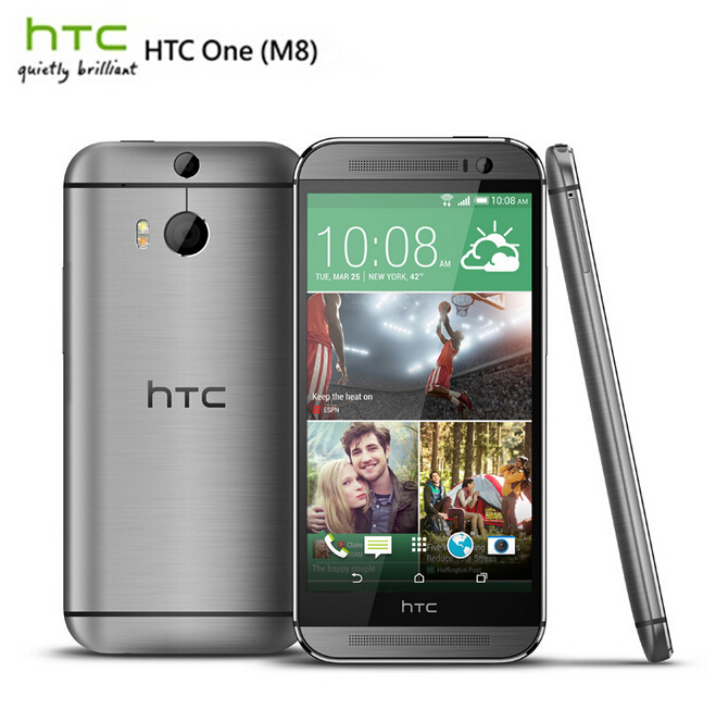 Unlocked Original HTC ONE M8 Quad Core Mobile phone Android 4.4 2GB RAM 16GB/32GB ROM 3 Camera EMS DHL(China (Mainland))