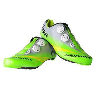 Езда На Велосипеде Обувь Углеродного Волокна Сверхлегких SIDEBIKE Велосипедные Туфли Дышащие Велосипедные Туфли Sapatilha Ciclismo Zapatillas