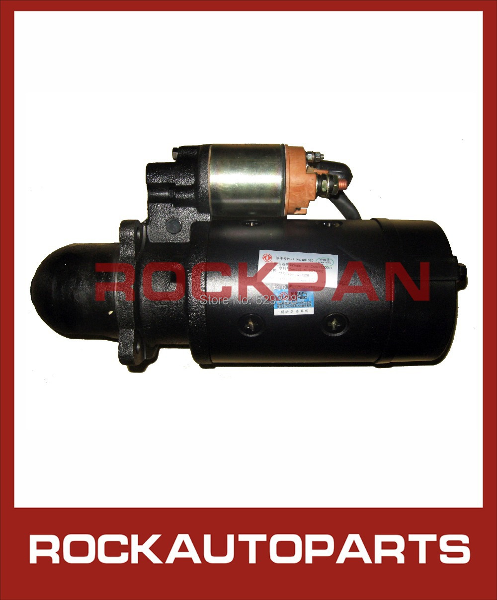 FOR CUMMINS ENGINE 4BT AUTO STARTER MOTOR QD1520 12V 4.5KW FOR DONGFENG TRUCK(China (Mainland))