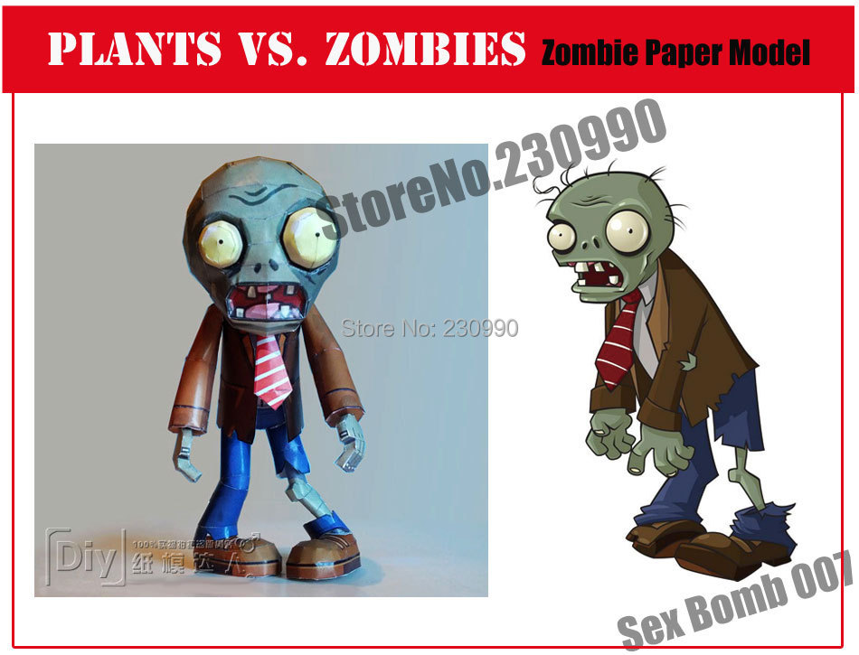 Help with paper zombie