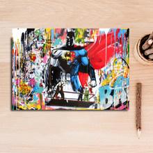 Абстрактный Следуйте за Вашей Мечтой граффити улица поп стены искусства холст, рисунки, Постер и печати картины для гостиной домашний декор(China)