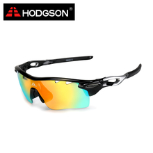 8004 HODGSON Brand New Designed Anti-fog Cycling Glasses Sports Eyewear Bicycle Goggles Bike Sunglasses with 2 Polarized Lenses(China (Mainland))