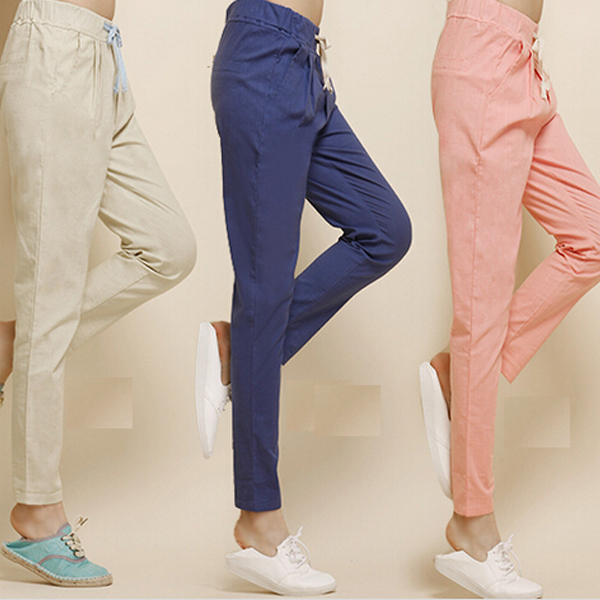 Trousers women harem pants calcas femininas 2014 pantalones mujer black loose pants female xxxxl xxxxl 5xl 4xl plus size WJ021(China (Mainland))