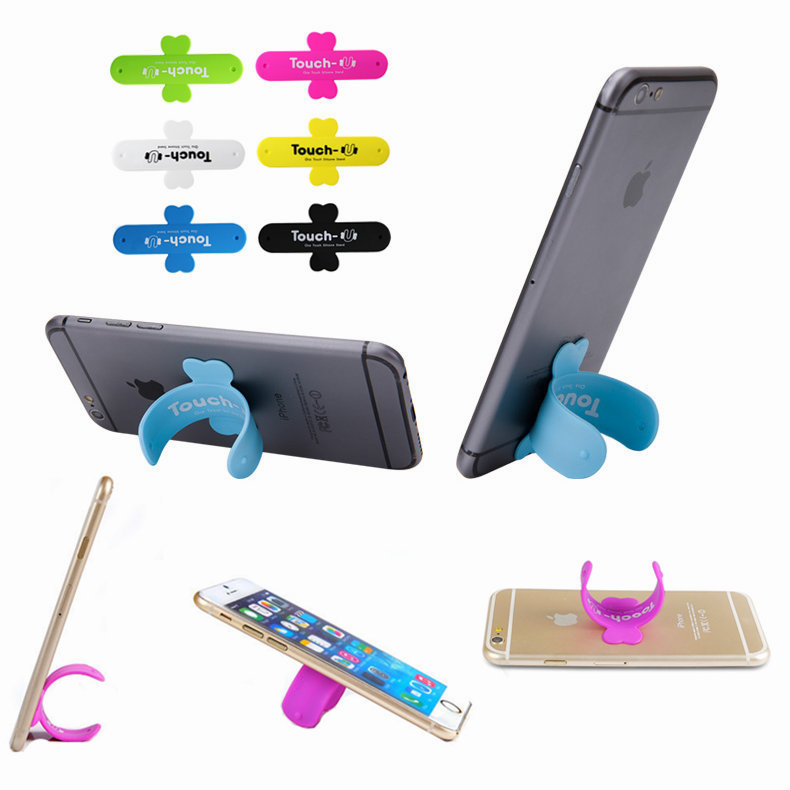 Universal mobile phone Holders & Stands For iphong samsung cell phone magic posted paste type Universal Car Stands Holders(China (Mainland))
