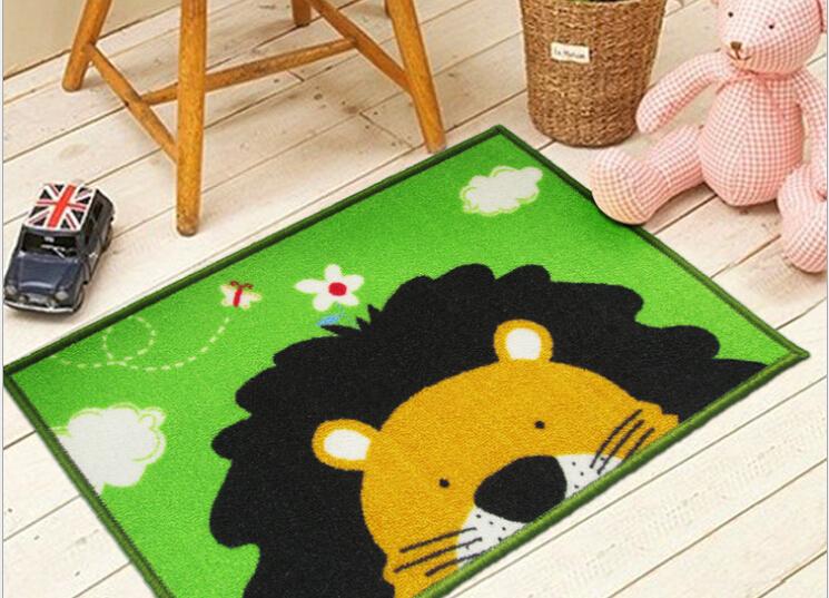 40*60cm Simple cute cartoon baby crawling mat hall bedroom door mats doormat Warm Family mat B006(China (Mainland))