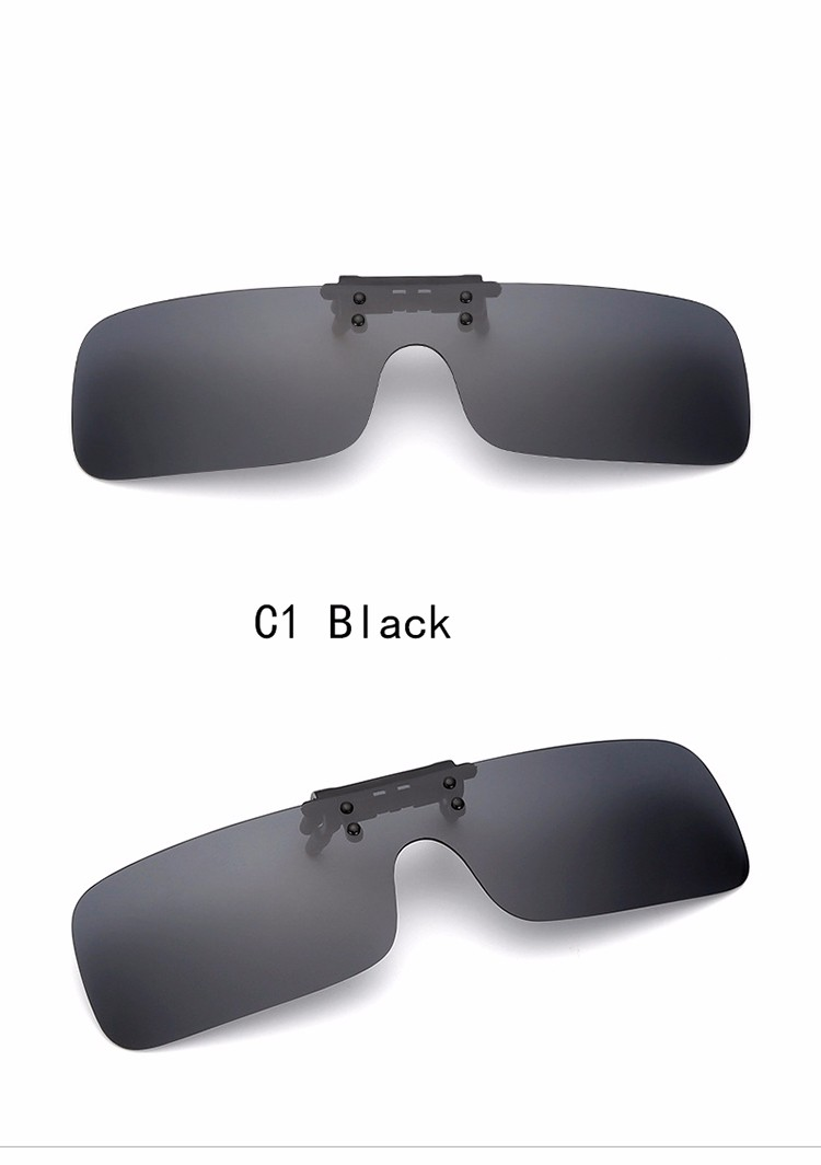 a242d62010 DRESSUUP 2016 Cool TAC Polarized Clip On Glasses Sunglasses Oculos De Sol  For Men Women With