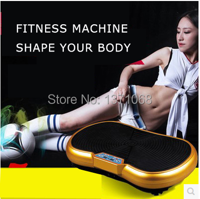 free shipping hosehold fitness equipmemt, body building mini type fitness, crazy fit massage vibration slim massage(China (Mainland))