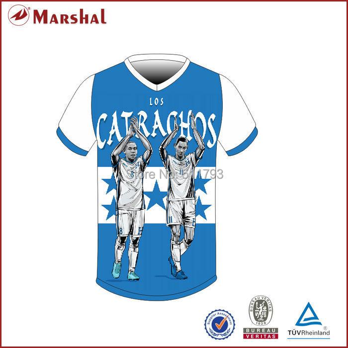 Wholesale Sublimation New Design Mens Football Team Jerseys(China (Mainland))