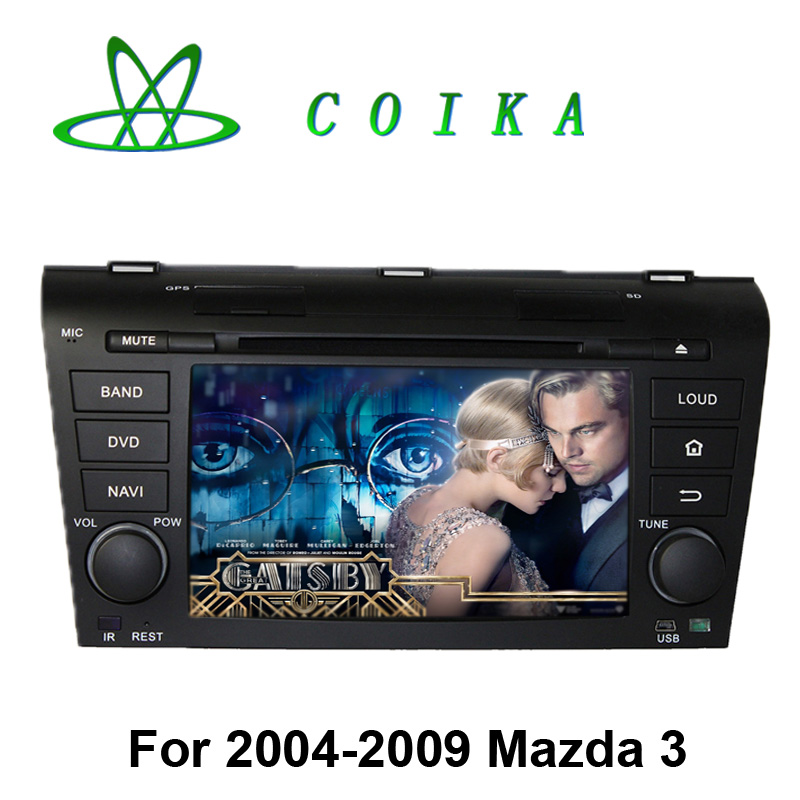 Android 5.1 System Auto DVD Radio For Mazda 3 2004-2009 Stereo GPS Navi WIFI 3G RDS Bluetooth OBD DVR Quad Core 1024*600 Touch(China (Mainland))