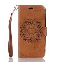 Datura Flower Flip Wallet Cover For LG K10 Capa Magnetic Leather Stand Case For LG K10 Carcasa Protector Shell Phone Bag Cases