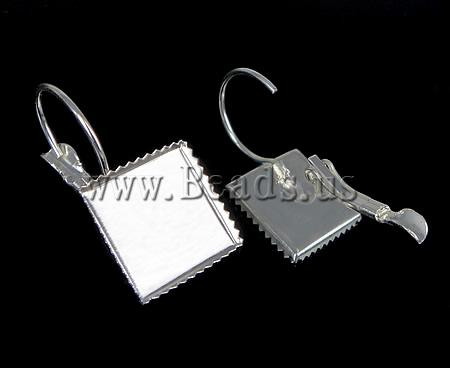 Free shipping!!!Brass Lever Back Earring Component,Wholesale Jewelry, silver color plated, nickel, lead & cadmium free