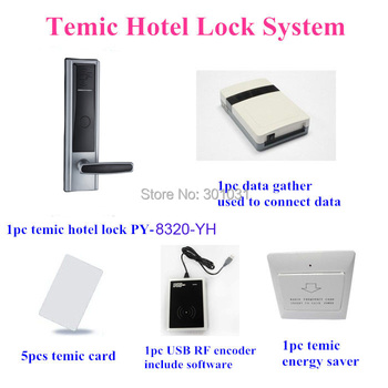 High quality Proyu temic hotel lock system with software management PY-8320-YH