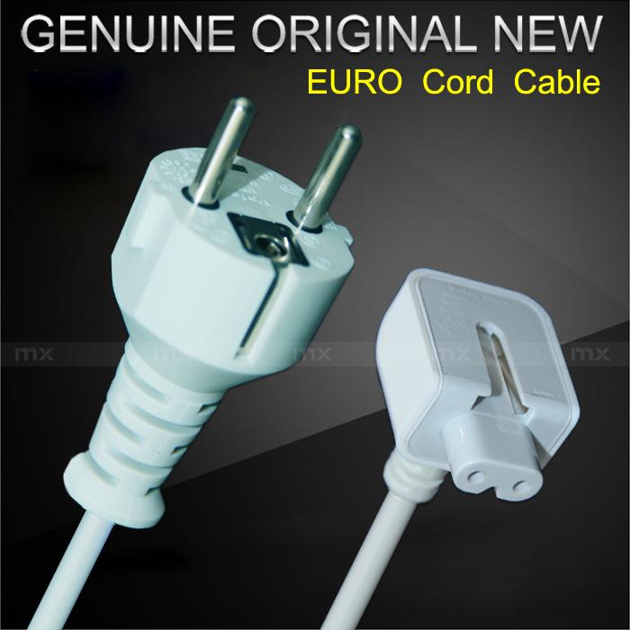 Original Europe EU Power Cord Cable For Apple MackBook iPad power adapter charger(China (Mainland))