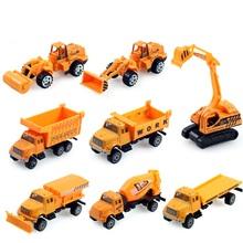 8 Шт./компл. Миниатюрный Де Карро Miniatura 1: 64 Автомобилей Трактор Игрушка для Детей Модель Игрушечной Модели Грузовик Трактор Игрушка Для Детей A155(China (Mainland))