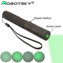 With 18650 Battery 10000 mW laser pointer pen adjustable focus lit match Leisure 303 keyed for 5000-10000 meters green laser(China (Mainland))