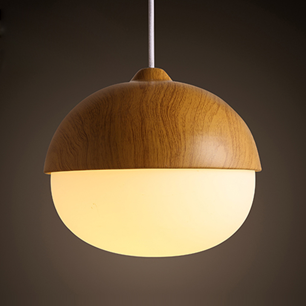 New Creative Bedroom Pendant Lamp Northern European Nut Shape Simple Modern P
