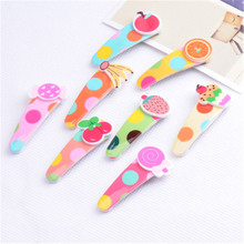 Imitative Fruit Hair Accessories Boutique Barrette Cherry Banana Hairpins For Girls Clips Baby Headband Gift (5Pcs)