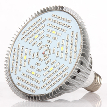 1pcs Full Spectrum Led Grow Light E27 30W 50W 80W Led Growing Lamp for Flower Plant Hydroponics System aquarium Led lighting(China (Mainland))