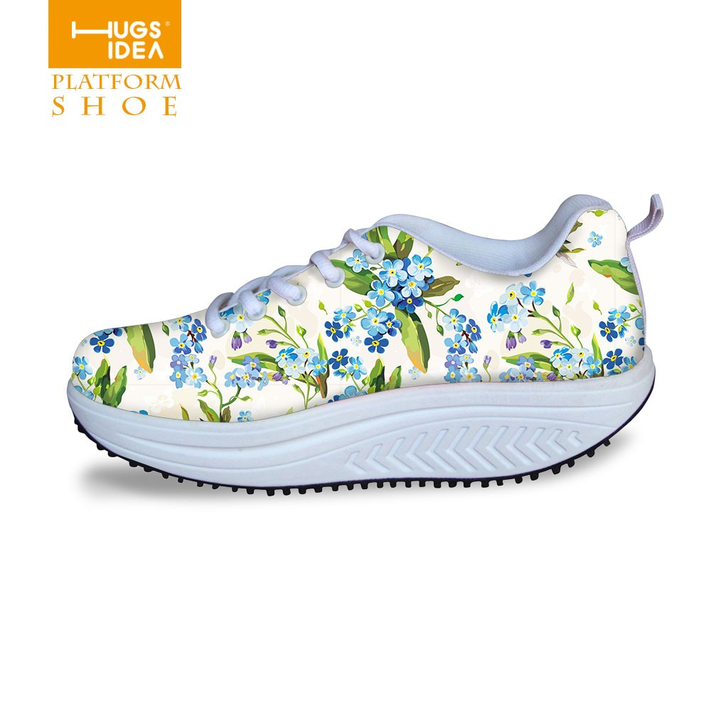 New Fashion Brand Women Beauty Fitness Shoes 2016 Women's Casual Shoes Serpentine Leopard Printed Female Swing Wedges Shoes Lady