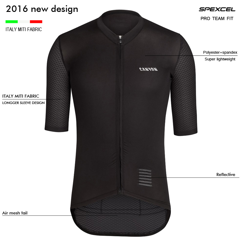 NEW 2016 CANYON PRO TEAM AERO CYCLING JERSEY longger short sleeve cycling wear Ropa Ciclismo road bike clothes best quality(China (Mainland))