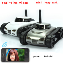 Free Shipping!777-270 WiFi i-spy Tank Car Toy W/ Camera Remote Control&Video By IOS phone or Android   FSWB