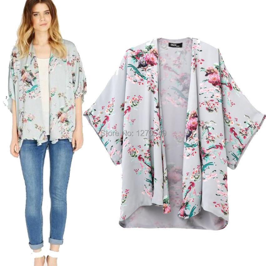 oversized kimonos jacket for women 214 new vintage retro. Black Bedroom Furniture Sets. Home Design Ideas