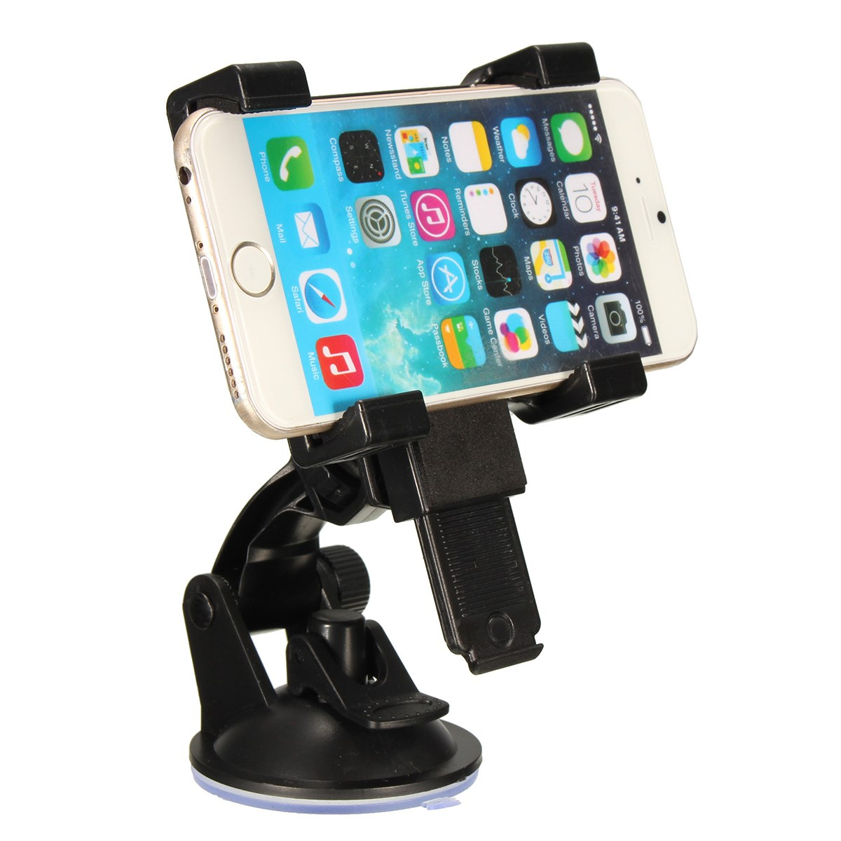 Adjustable Car Windshield Suction Mount Cell Phone Holder Stand Cradle For iphone 6 6 Plus For ipad Mini 2 Tablet GPS(China (Mainland))