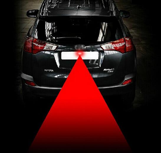Anti-Fog Car Laser Light Anti-collision laser LED Laser Fog Light Car Warning Radiation Light New car styling Cars powerful(China (Mainland))