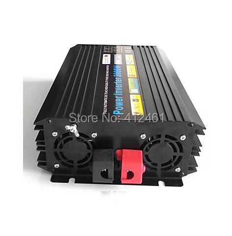 High quality 3000W Pure sine wave inverter 110/220V AC 12/24VDC, PV Solar Inverter, Power inverter, Car Inverter Converter<br><br>Aliexpress