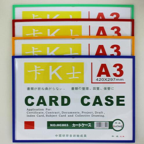 a3 29742cm magnetic label holder poster frame pop pvc sign label card poster case