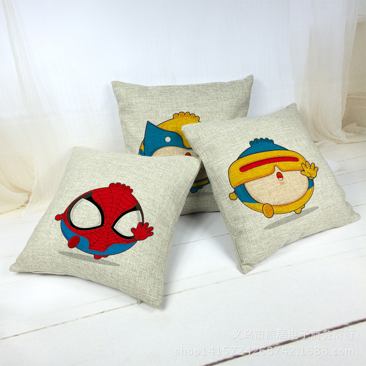 Anime Decorative Design Cushion Cover Pillowcase Home Decor Pillow Case Fronha Carro Cojines Decorativos Almofada Car Coussin