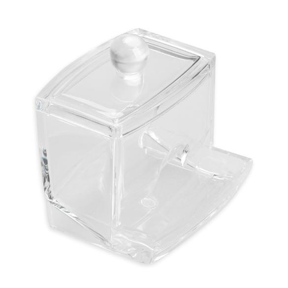 Clear Acrylic Cotton Swab Q Tip Storage Holder Box Cosmetic Makeup Case  Organizer 88 Hogard