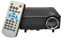 2015 Hot Sale H80 Mini Projector HD 1080P Mini LCD Digital Video Game Projectors Multimedia Player Inputs AV VGA USB SD HDMI